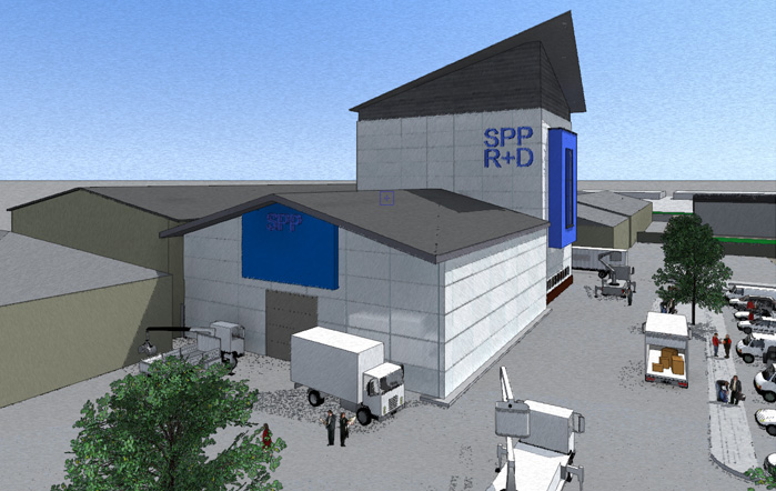 Artist impression of new SPP Centre in Coleford UK