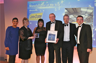 SPP presented the prize at the PI Awards 2013 in Solihull